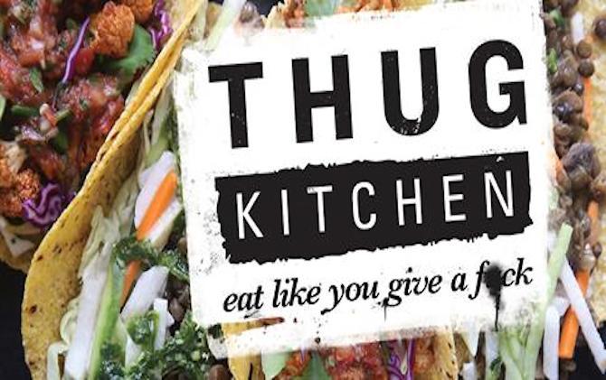 Thug Kitchen: Sweet Potato, Squash, & Black Bean Enchiladas
