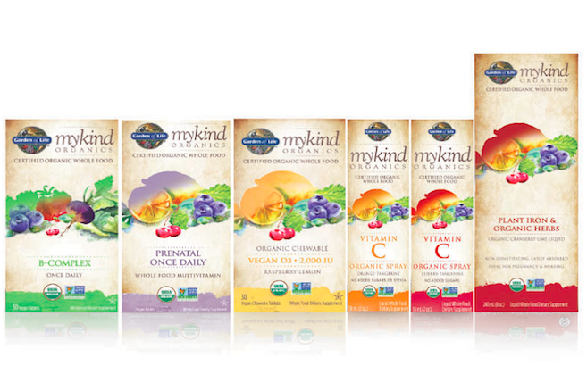 Organic Vitamins: New Additions to the Line!